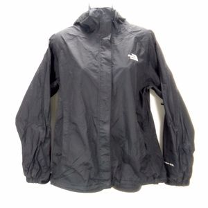 The North Face Hyvent 2.5L Black Raincoat Sz M